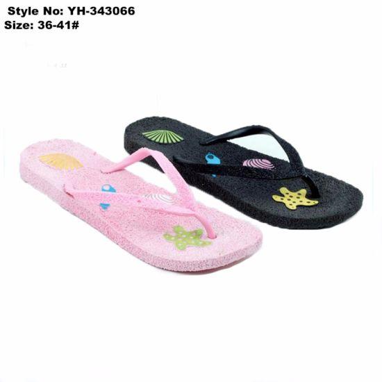 90d3d2e3994169 China Light-Weight PVC Beach Slipper Girls Fashion Flip Flop - China ...