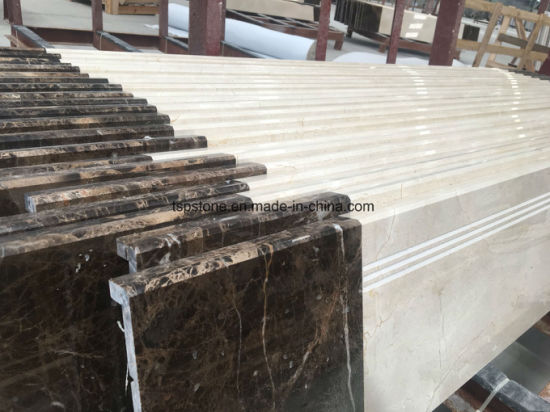 Custom Design Granite Marble Stone Stair Tile for Indoor Decoration pictures & photos
