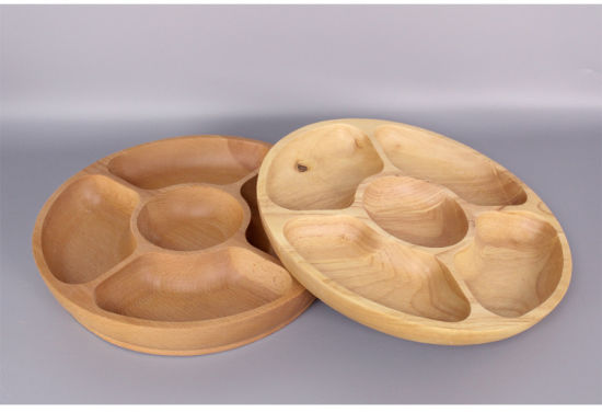 Custom Wooden Tray for Fruits and Vegetables