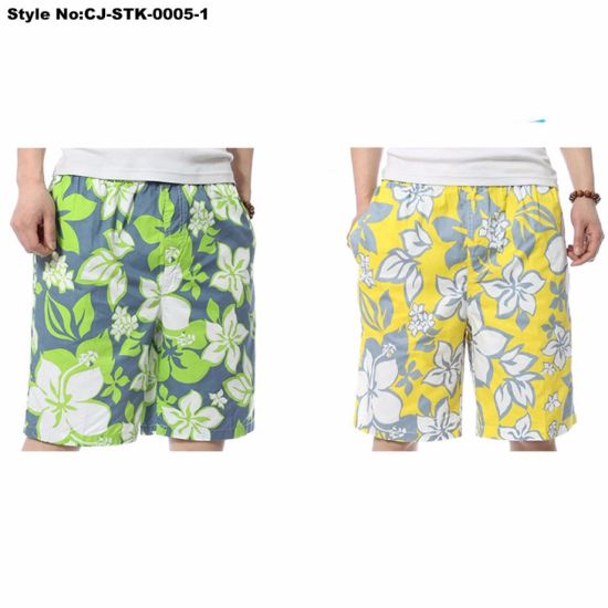 e05aba4260027 Summer Plus Size Men′s Beach Pants Casual Comfort Sports Beach Shorts Quick  Dry Board Shorts