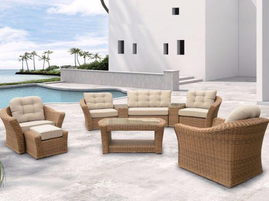 Garden Patio Rattan Wicker Home Hotel Office Wellington Lounge Outdoor Furniture J407
