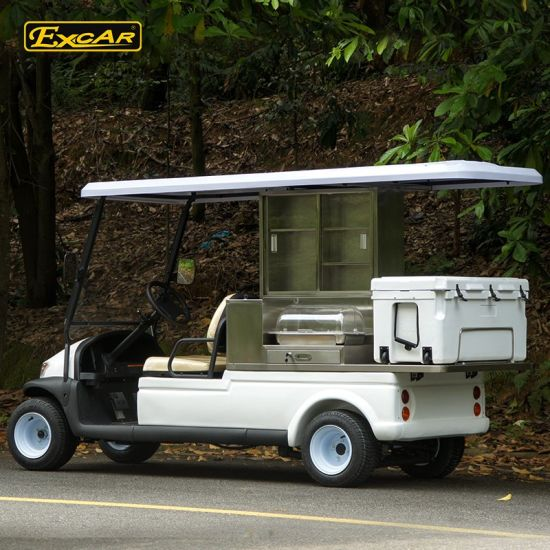 China Hot Sale Van Food Cart Electric Food Car with Ice Box - China on delivery cart, gem food truck cart, street cart, van pool, pushing grocery cart, crazy cart,