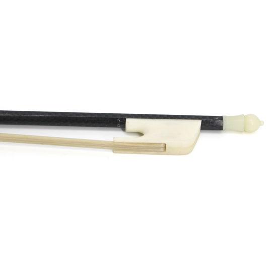4/4 Carbon Fiber Baroque Violin Bow Real Mongolia Horse Hair Violin Accessories