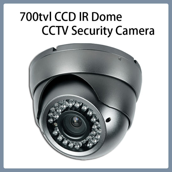 Surveillance 700tvl CCD IR Vari-Focal Len Dome CCTV Security Camera