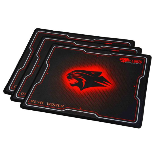 Custom Gamer Wide Rubber Sheet for Mouse Pad Gaming Mouse Mat
