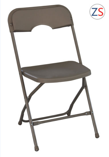 Metal Plastic Folding Chair Outdoor Basic Furniture pictures & photos