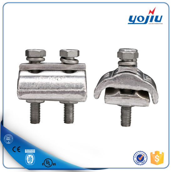 China APG Aluminium Parallel Groove Connector Three Bolts Clamp