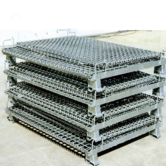 Steel Storage Warehouse Wire Mesh Container Cage