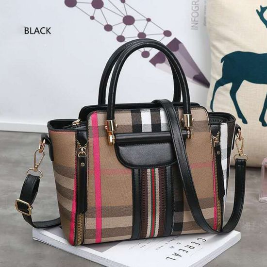 Latest Unique Design Women Tote Bag Fashion Lady Handbag Cross Bag pictures & photos