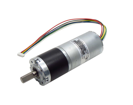 Planetary Motor Metal Gearbox Copper Coil Motor for Intelligent Equipment DC 12V with Ball Bearings