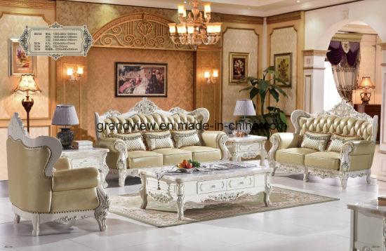 2017 Home Furniture Dubai Royal Leather Tufted Sofa Couch, Wooden Sofa Set  Designs