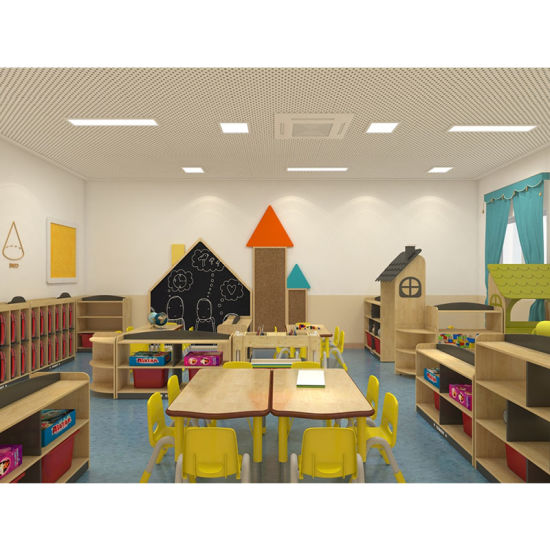 Cowboy Cheap Solid Wood Furniture for Children Nursery Daycare