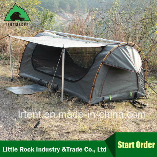 2017 New Model Rip Stop Canvas Swag Tent pictures & photos