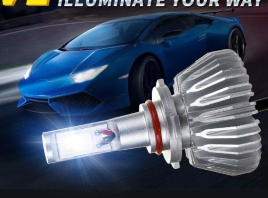 36W 6000K COB DC12-30V H4 LED Headlight for Cars. H4 LED Bulb for Cars pictures & photos