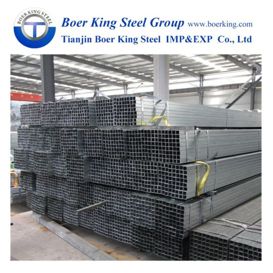 Building Material High Quantity BS1387 Standard Galvanized Steel Pipes and Fittings Tube