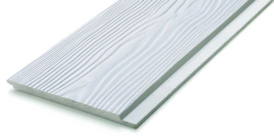 Profile Edge Fibercement Weatherboard with Tongue and Groove Wood Plank