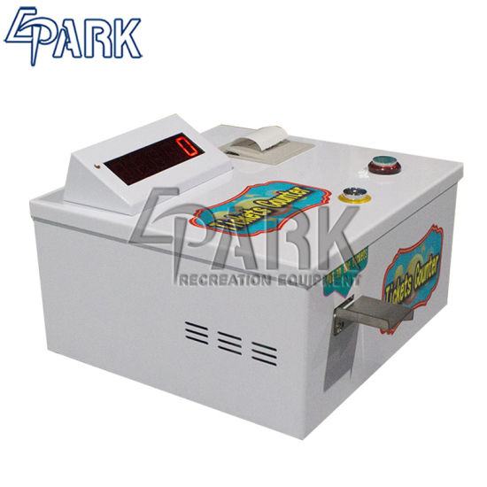 Indoor Lottery Game Machine Ticket Cutting Machine Ticket Counter for Sale pictures & photos