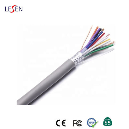 High Quality Alarm Cable with Shield pictures & photos