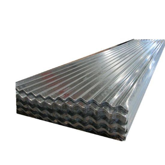 Zinc Coated Galvanized Steel Metal Roofing Corrugated Sheet