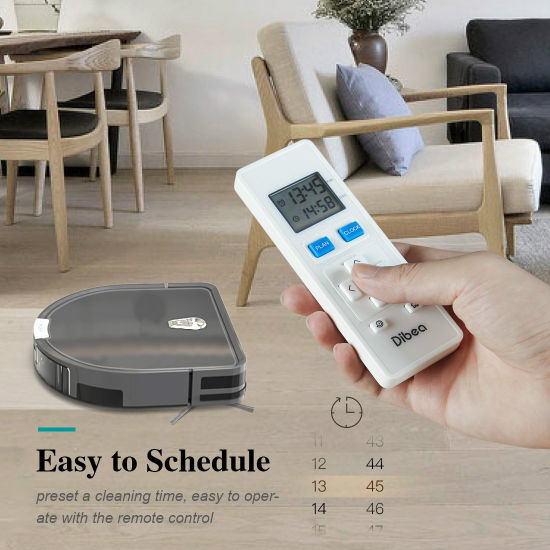 Robotic Vacuum Cleaner with APP, Nevigation and Auto Charging