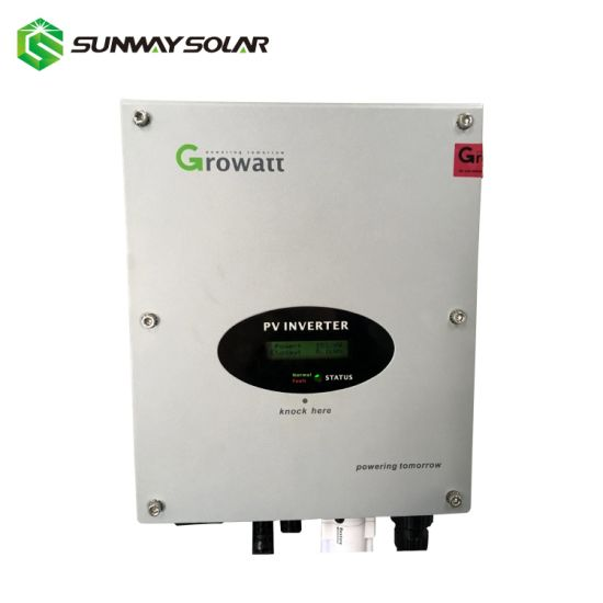 1kw/2kw/3kw Solar on Grid Tie Power Inverter Growatt New Energy pictures & photos