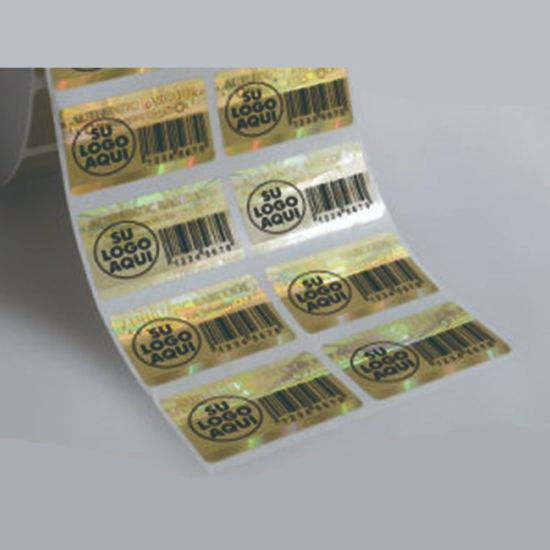 Reliable Waterproof Security Label with Bar Code