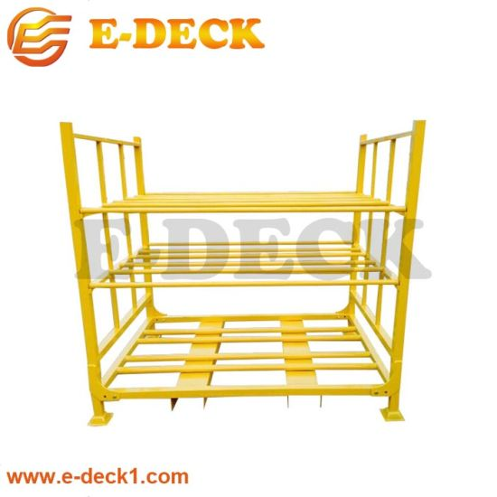 Factory Price Steel Shelf Stand Tire Pallet Warehouse Tyre Storage Rack Wholesale