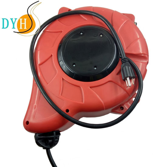 Retractable Industrial Extension Cord Cable Reel