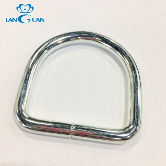 Metal D Ring Buckles for Leather Craft Garment Clothes Luggage Sewing Handmade Bag Purse