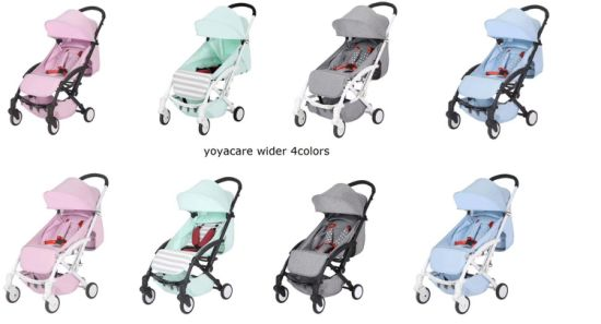 OEM Factory Baby Stroller Wide Comfortable Can Foldable Baby Pram