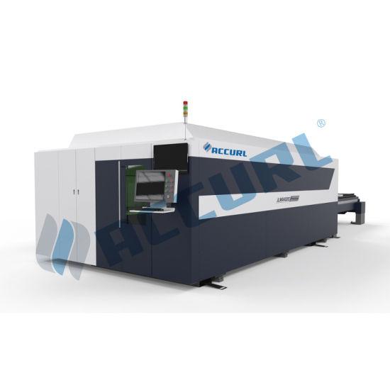 300W 500W Fiber Laser Cutting Machine for Metal Plate