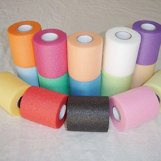 Elastic Colorful Soft Foam Underwrap Tape Pre-Wrap Sports Bandage