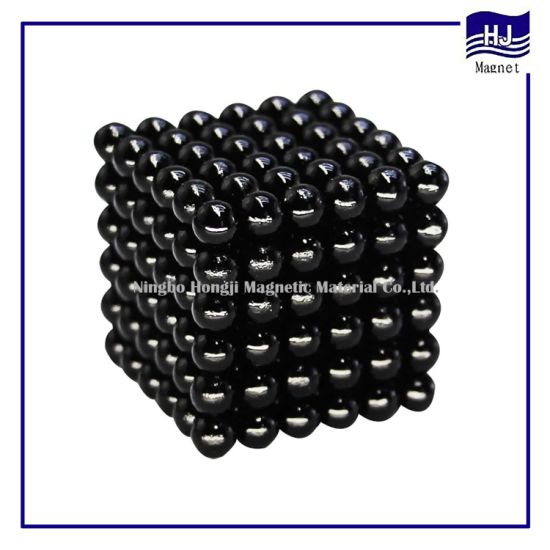 Colorful Customized Neodymium NdFeB Magnet Ball Neocube for Industry or Kids