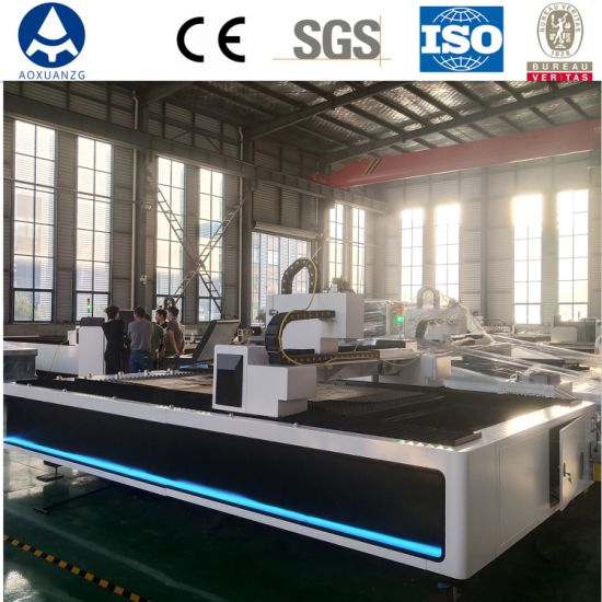 1000W Automatic Stainless Steel CNC Fiber Laser Metal Sheet Aluminum Cutting Machine for Sheet Cutting