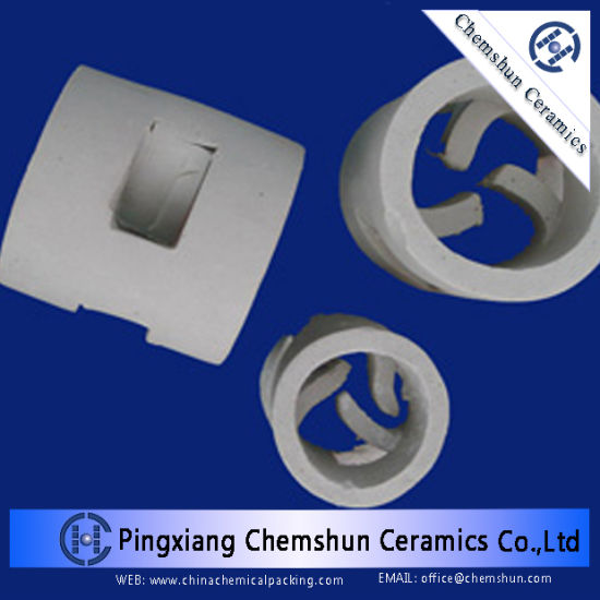 Chemical Packing Ceramic Cross-Partition Ring for Drying, Cooling Tower pictures & photos