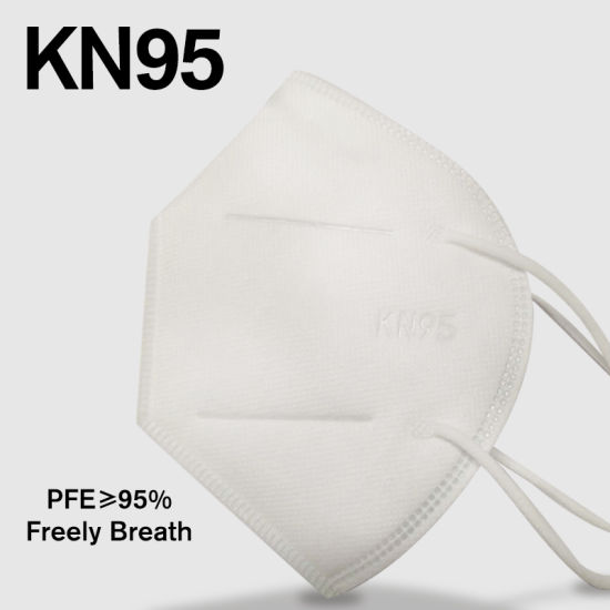 Factory Direct Sale Wholesale High Quality Non-Woven Melt-Blown Hot Air Fabric 5ply Anti Dust Safety Disposable Respirator KN95 Face Mask Mascarilla Mascherina