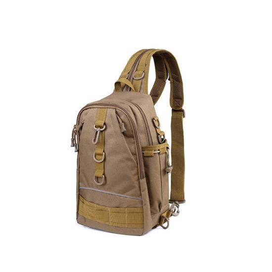 Fashion Fishing Tackle Backpack Storage Bag Outdoor Shoulder Backpack Fishing Gear Bag Waterproof Fishing Backpack with Rod Holder