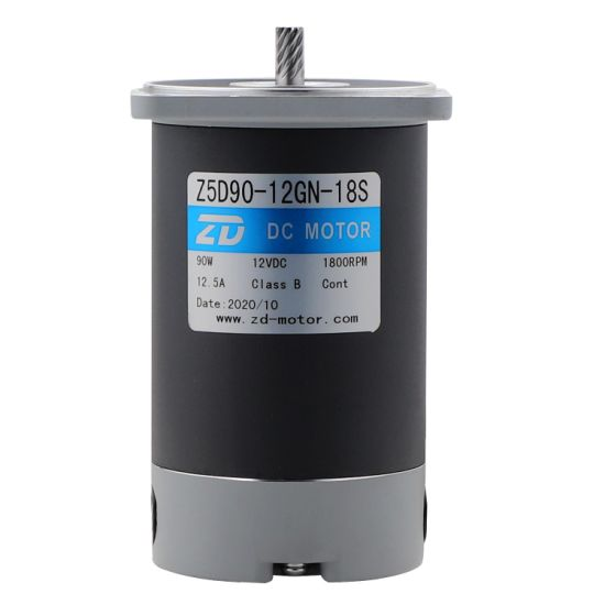 90mm 90W DC Motor Without Gearbox