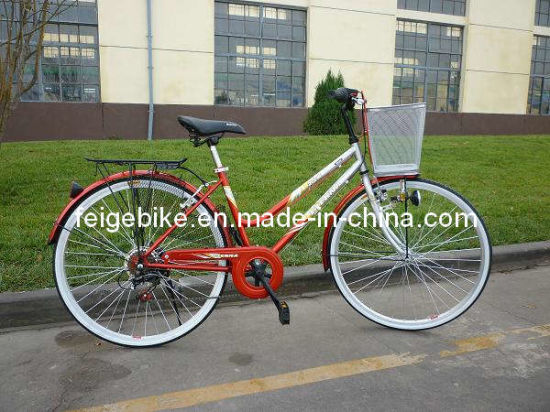 "Europe City Bicycle Rear 7sp 28"" Woman Bike (CB-025) pictures & photos"