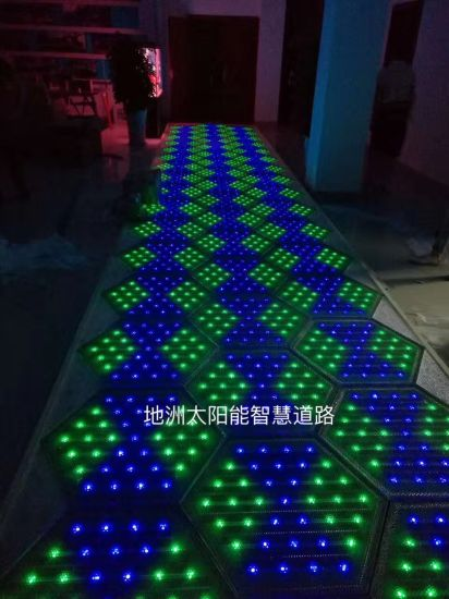 Smart Solar Driveway Manufacturer LED Solar Panel Roadway pictures & photos