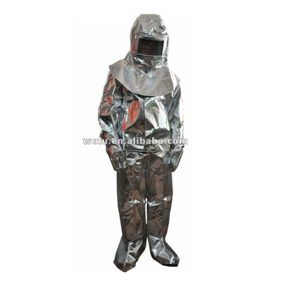 Aluminized Fire Protective Suit for Danger
