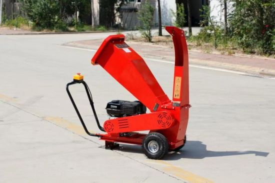 7HP Gasoline Wood Chipper Shredder with Walking Operator