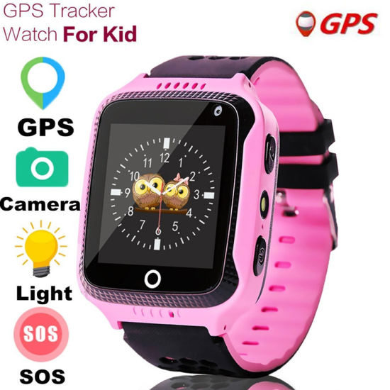 GPS Camera Flashlight Baby Watch Sos Call Location Device Tracker pictures & photos