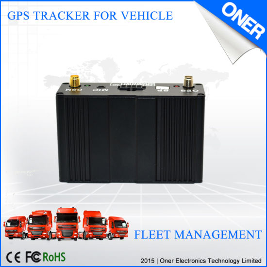 GPS Tracker with Fuel Sensor for Fuel Monitoring pictures & photos