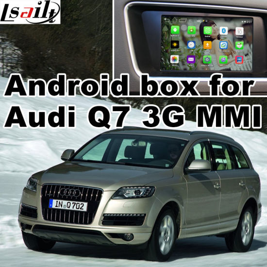 China Android GPS Navigation System Box for Audi Q7 Video Interface