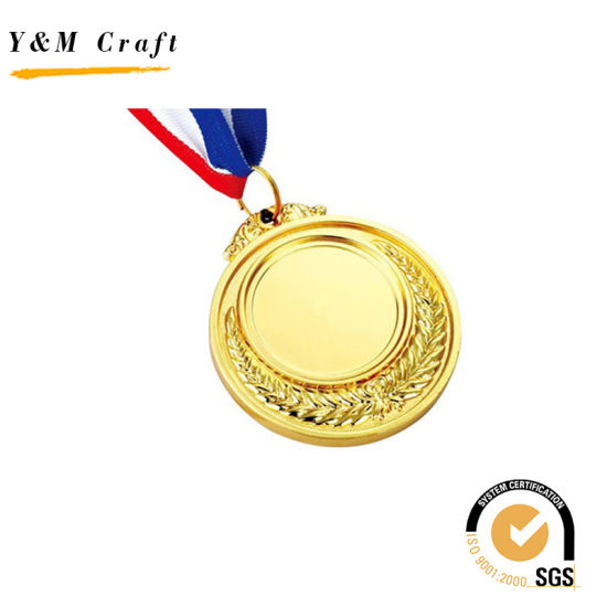 Promotional Gift Souvenir Custom Badge Metal Sport Award Gold Medal pictures & photos