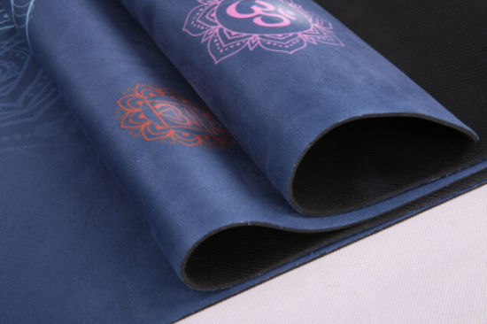 Eco Friendly Non Slip Yoga Mat, Body Alignment System, SGS Certified Natural Rubber Material pictures & photos