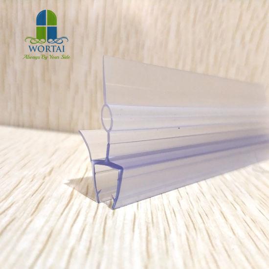 Bath Screens Shower Door Bathroom Supplies Bottom Seal Strip Seals Gap 8 mm