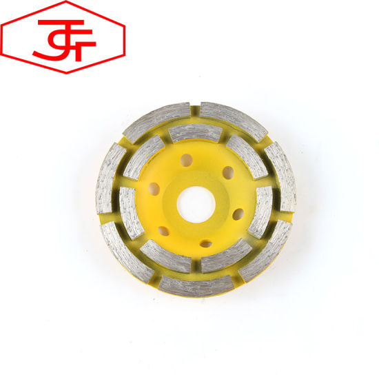 4 Inch 100 mm Diamond Grinding Cup Wheel for Polishing Lapping Concrete pictures & photos