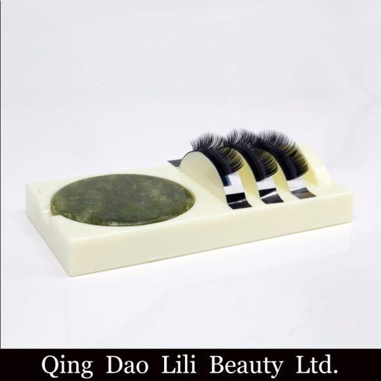 0bbdc4a904 Professional False Eyelashes Stand Pad Pallet Lashes Holder Eyelash  Extension Glue Holder Easy Pick up Makeup